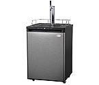Kegco K309SS-1 Full Size Digital Kegerator - Black Cabinet with Stainless Steel Door