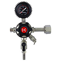 Elite Series Single Gauge CO2 Draft Beer Regulator
