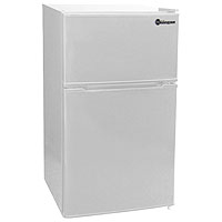 3.1 Cu. Ft. Two Door Counterhigh Refrigerator - White