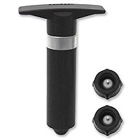 LAST ONE - Single Action Wine Pump w/2 Wine Stoppers