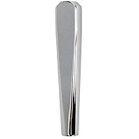 Stout Beer Faucet Tap Handle - Polished Chrome