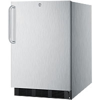 5.5 cf Stainless Steel Outdoor All-Refrigerator