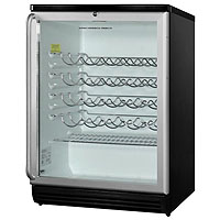 50 Bottle Wine Refrigerator - Full Stainless Pro-Style Handle