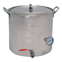 10.5 Gallon Super Economy Stainless Steel Brew Pot
