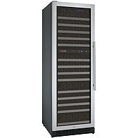 FlexCount Series 172 Bottle Dual Zone Wine Refrigerator with Left Hinge