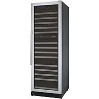 FlexCount Series 172 Bottle Dual Zone Wine Refrigerator with Right Hinge