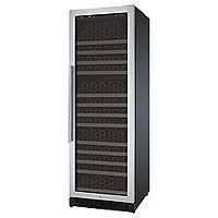 FlexCount Series 177 Bottle Single Zone Wine Refrigerator with Right Hinge