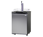 Kegco K209SS-1 Full Size Kegerator - Black Cabinet with Stainless Steel Door
