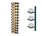 Photo of Vintage View WS41-CHROME - 12 Bottle VintageView Wine Rack - Chrome Finish