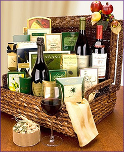 Photo of Unparalleled Luxury Wine Gift Basket