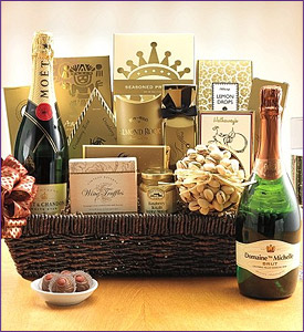 Photo of The Classic Champagne Collection Gift Basket