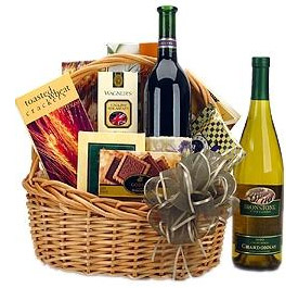 Photo of Traditional Wine & Gourmet Basket