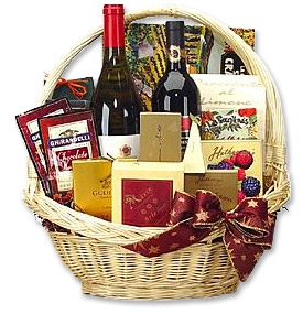 Photo of Premium Wine & Gourmet Basket