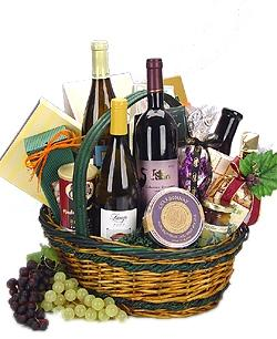 Photo of The Vintner Wine Gift Basket