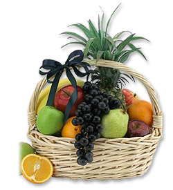Photo of Just For You - A Basket of Fresh Fruit