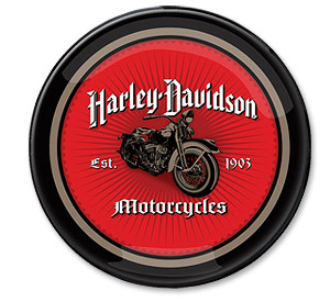 Photo of Harley-Davidson Motorcycles Sunburst Pub Light