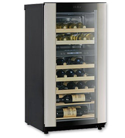 Photo of Haier HVZ040ABH5S 40-Bottle Dual Zone Wine Cooler