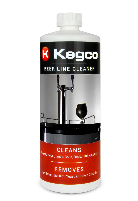 Kegco Beer Line Cleaner For Kegerators 32 Oz Bottle