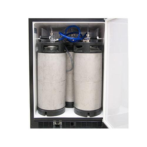 Kitchen Island Kegerator marvel mo24bns1rs-x1 outdoor kegerator cabinet x-clusive premium
