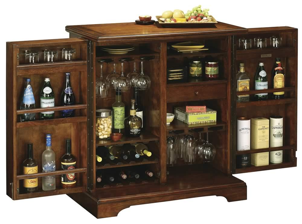 Howard Miller 695-116 Lodi Wine & Spirits Cabinet ...