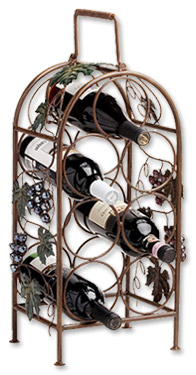 Photo of Cascade Vineyard 7-Bottle Wine Rack