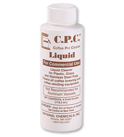 Photo of CPC Liquid Coffee Pot Cleaner - 4 oz.