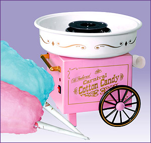 Photo of Nostalgia Electrics CCM-505 Old Fashioned Carnival Cotton Candy Maker