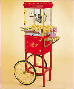 Photo of Nostalgia Electrics CCP-510 Old Fashioned Circus Cart Popcorn Maker
