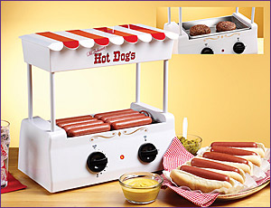 Photo of Nostalgia Electrics HDR-565 Old Fashioned Hot Dog Roller & Griddle