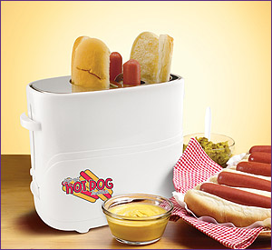 Photo of Nostalgia Electrics HDT-600 Pop-Up Hot Dog Toaster