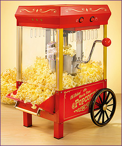 Photo of Nostalgia Electrics KPM-508 Old Fashioned Movie Time Kettle Popcorn Maker