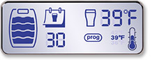 BeerTender LCD Screen Control Panel
