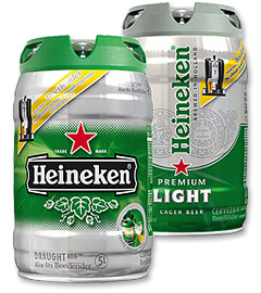 Heineken DraughtKegs