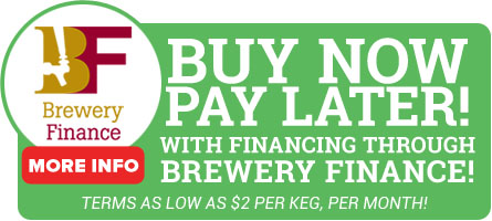Financing is available from Brewery Finance