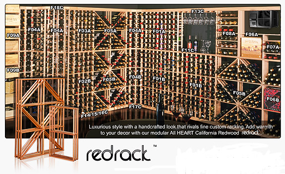 120 bottle wine rack plans