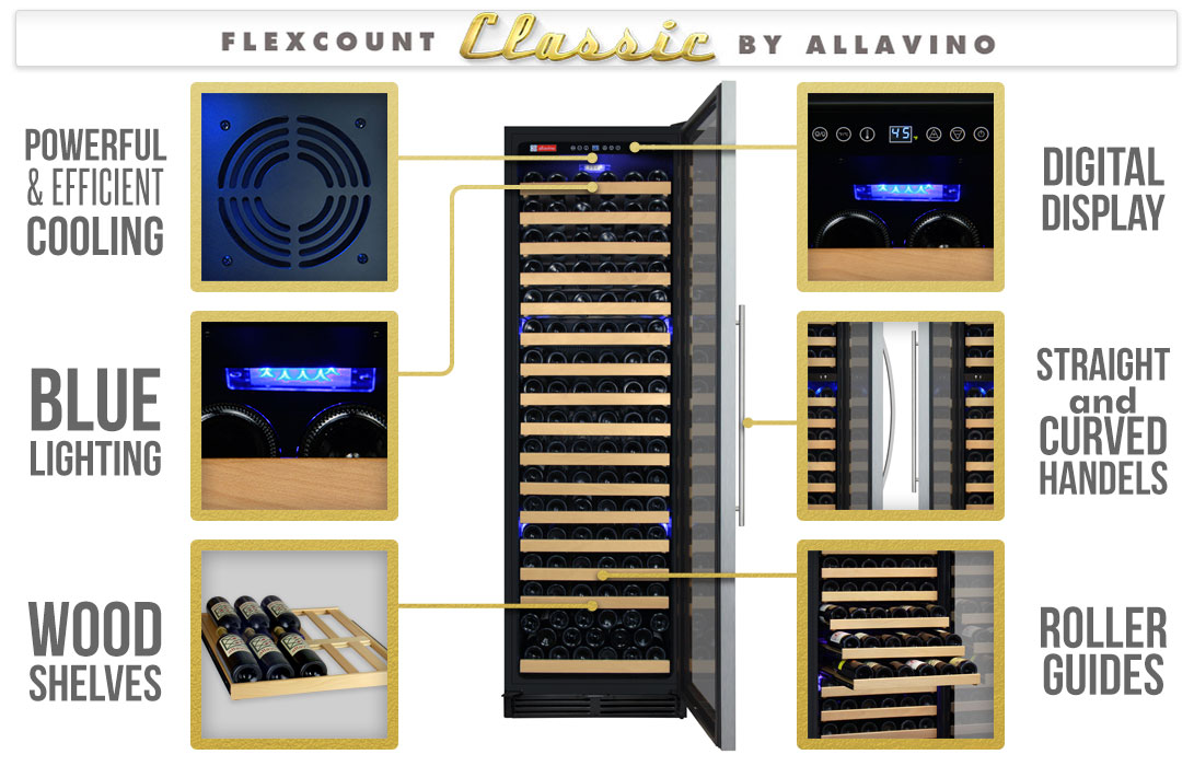 Allavino  Wine Refrigerator Features
