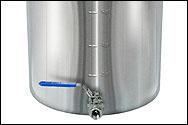 42 Quart Economy Stainless Steel Brew Kettle