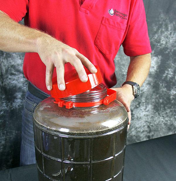 Cover jar