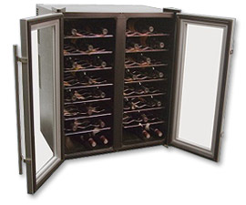 Dual Temperature Zone Wine Refrigerator