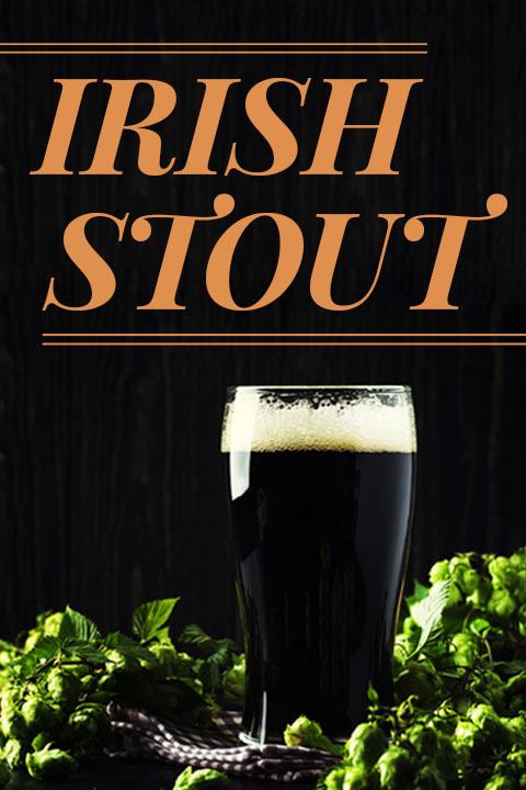 Glass - Irish Stout Recipe