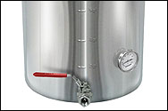 60 Quart Super Economy Stainless Steel Brew Kettle