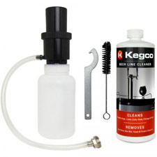 Kegco Standard Beer Cleaning Kit