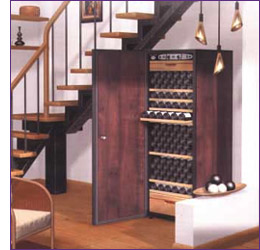 Wine Cellar in Living Area