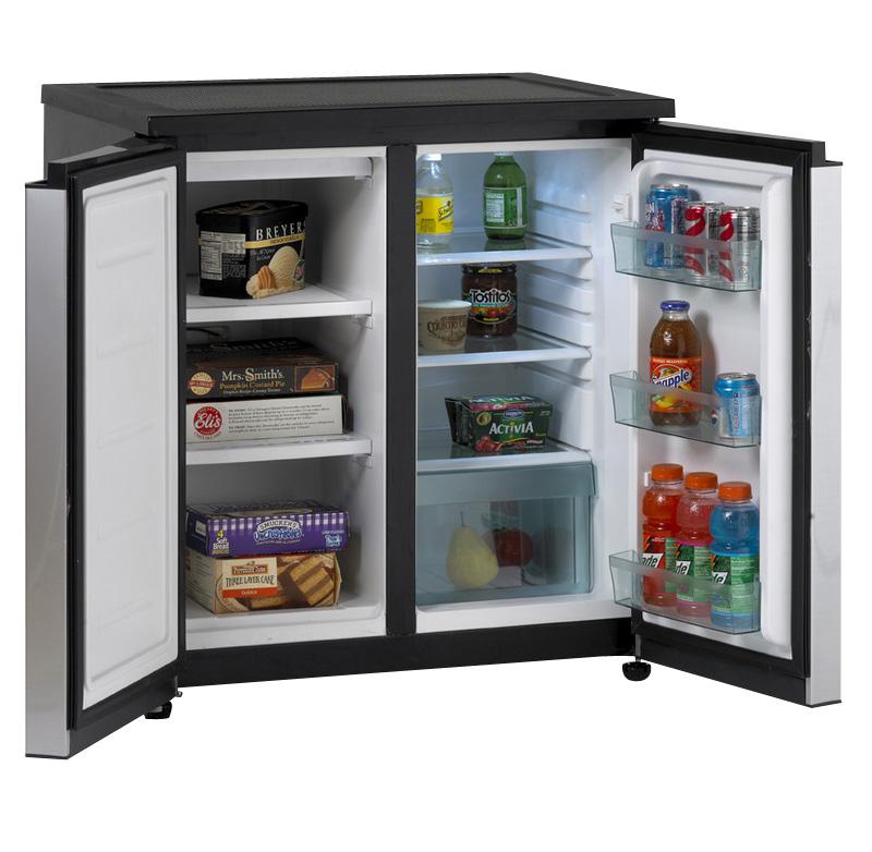 Avanti RMS550PS - 5.5 Cu. Ft. Side-by-Side Refrigerator/Freezer ...