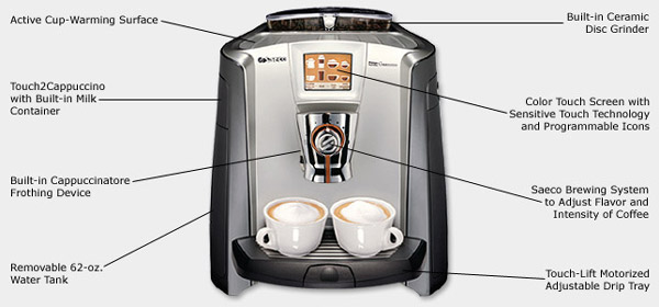Photo of Saeco Primea Touch Plus Espresso Machine