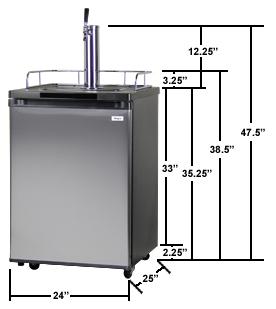 Kegco K209SS-1