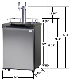 Kegco K209SS-2