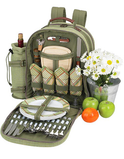Photo of   Hamptons Picnic Backpack for Four