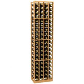 Enlarge Allavino 4 Column 76 Individual Bottle Wood Wine Rack