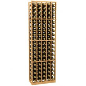 Enlarge 5 Column Wood Wine Rack
